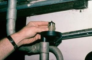 view Milking machine: vacuum regulator valve