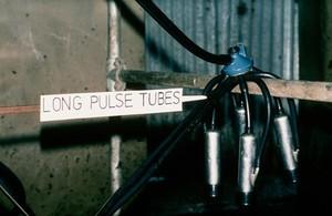 view Milking machine: long pulse tubes