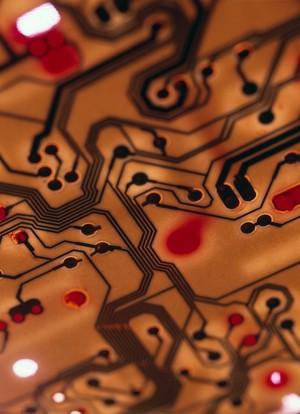 view Silicon chip