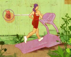 view Cardio exercise