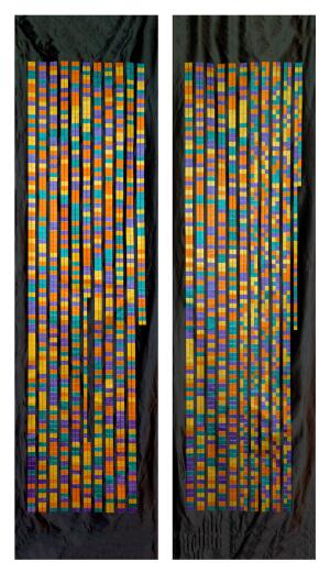 view DNA sequence of CCR5 Delta 32 gene mutation