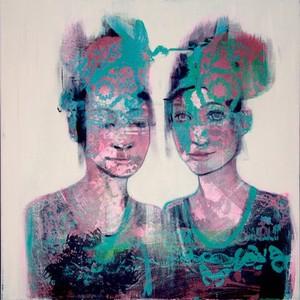 view Chrysalis, paintings exploring women in science