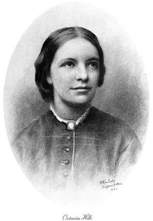 view Portrait of Octavia Hill, 1838-1912