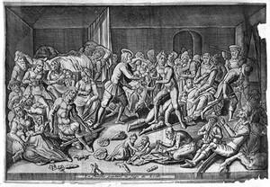 view Les Delices de Leide, Pieter van der Aa, 1712
