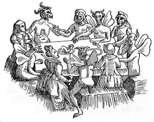 view The Devil in Britain and America, 1896