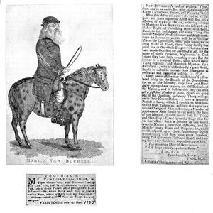 view M. van Butchell on a mule.