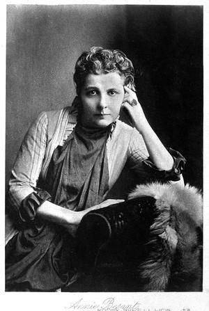 view Portrait of Annie Besant (1849-1933)