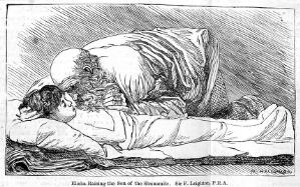 view Elisha resuscitating a boy by artificial respiration