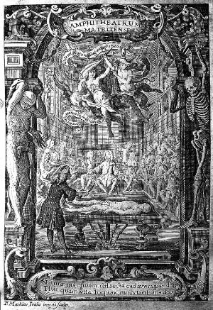 view An anatomical dissection, Madrid, circa 1728.