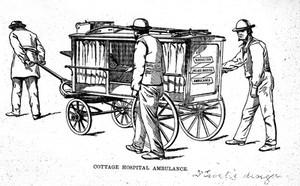 view Wrington Cottage Hospital Ambulance.