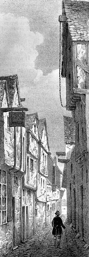 view Area of York affected by Cholera epidemic, 1832