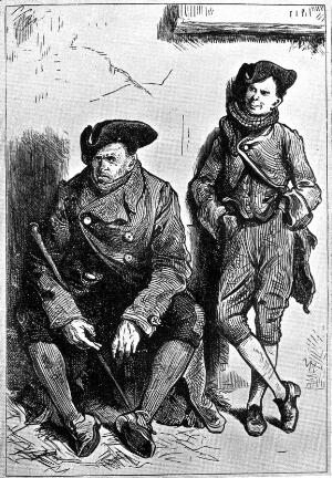 view 'The Resurrectionists', Messrs Cruncher and son, mentioned in 'A Tale of Two Cities'.