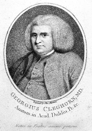 view Portrait of George Cleghorn