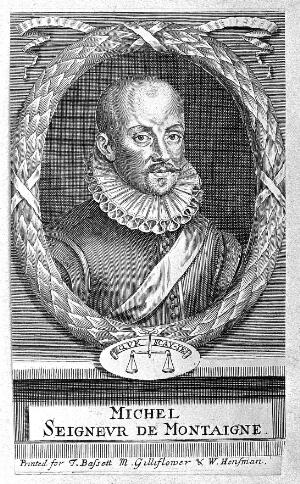 view Portrait of Michel de Montaigne.