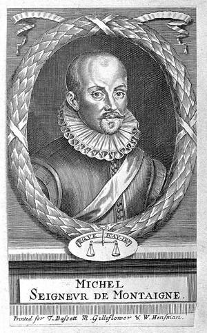 view Portrait of Michel de Montaigne.