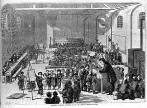 view Child welfare: Ragged School, Whitechapel, 19thC