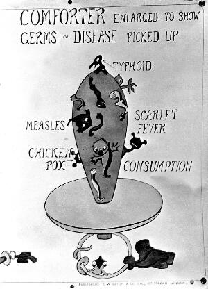 view Pictoral representation of germs, 1920