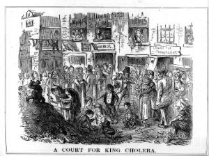 view A court for King Cholera