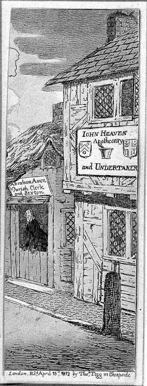 view John Heaven: apothecary and undertaker