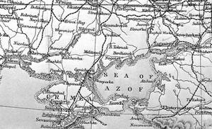 view Map of Crimea.