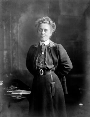 view Photograph of Ethel Williams