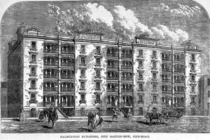 view Palmerston Buildings, City Garden-Row, City-Road.