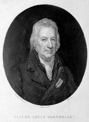 view Claude Louis Berthollet (1748-1822). Aquatint by Allais after drawing by Dutertre from painting by Rembrandt Peale