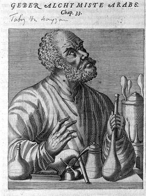 view Jabir ibn Hayyan Geber, Arabian alchemist