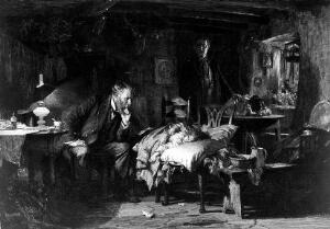view The Doctor, Leon Salles (after Fildes)