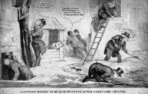 view A London Board of Health hunting after cases like a cholera.