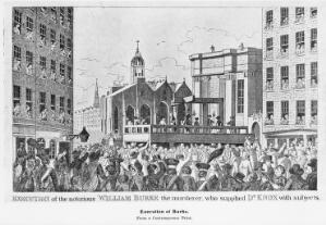 view Execution of the William Burke
