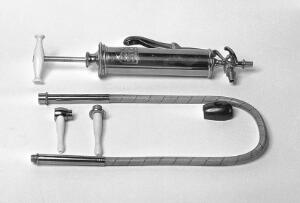 view Enema and Stomach pump, by Arnold & Sons