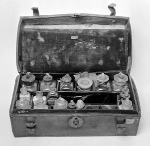view David Livingstone's medicine chest