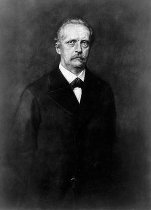 view Portrait of H. L. F. von Helmholtz, by Jeans.