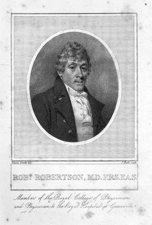 view Portrait of Robert Robertson by J. Heath