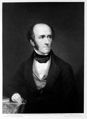view James Arthur Wilson. Mezzotint by W. Walker, 1852, after E. Walker.