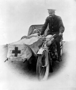 view Transport of wounded.