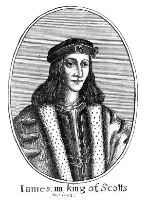 view James IV, King of Scotland. reigned 1488 - 1513. Killed at the Battle of Flodden.