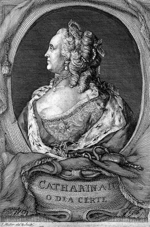 view Catherine II, Czarine of Russia, 1729-1796.