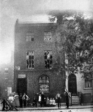 view James Parkinson, No. 1 Hoxton Square