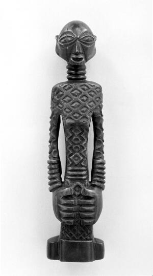 view Ivory figure from Luba, Congo