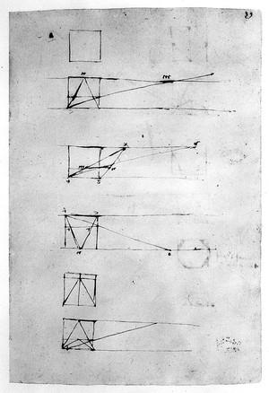 view L. da Vinci manuscript notebooks MS A