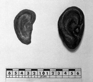 view Votive offering in form of an ear.