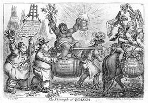 view James Gillray, 'The triumph of Quassia'
