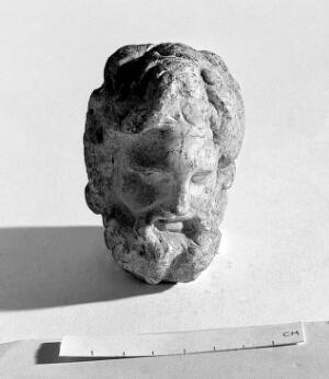 view Head of Aesculapius
