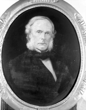 view Portrait of Baron Lister at the age of 60.