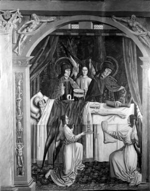 view SS Cosmas & Damian and 'the miracle of the leg'