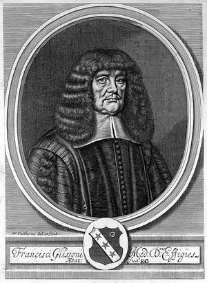 view Portrait of Francis Glisson