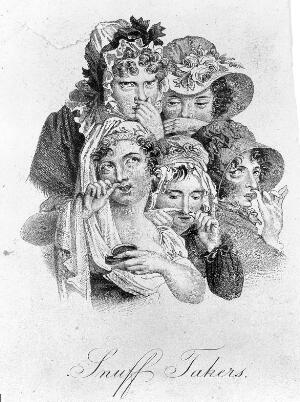 view L.L. Boilly, Snuff-takers