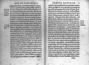 "view Images from""De atra bile liber...."" Galen, 1529"
